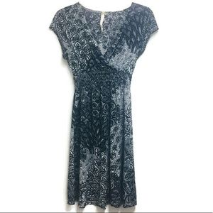 Cristinalove Black and White Dress